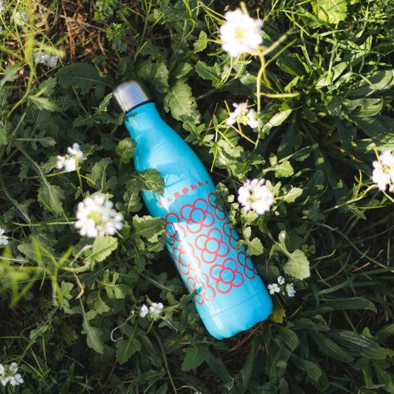 Imagen de producto botella Panot BCN azul