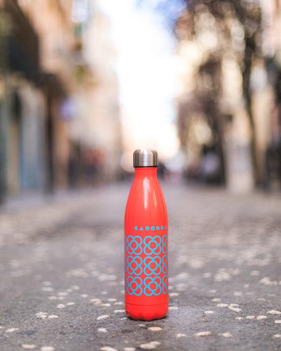 Imagen de producto botella Panot BCN roja